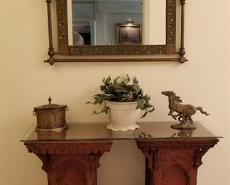 Wooden Oak Pedestal