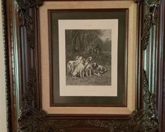 Framed Dogs