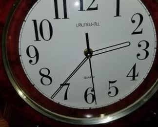 Laurel Hill clock