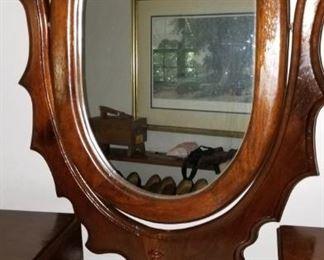 Mirror on dresser