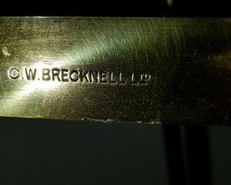 W. Breknell stamp