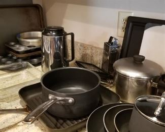 Nice pots and pans