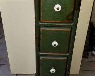 Kitschy small cabinet