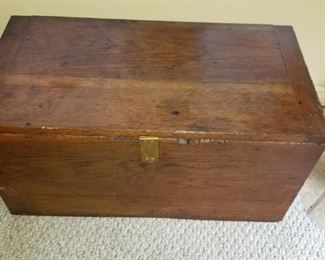 Wooden Box closed