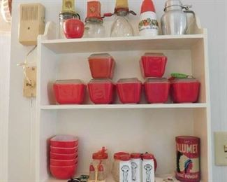 Refrigerator Dishes, Kitchen Collectibles