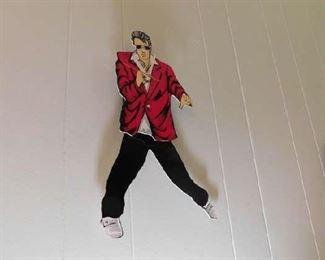 Elvis Clock, Legs move
