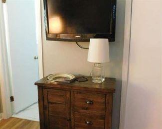 1 of 3 flat screen TVs