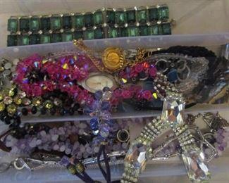 Elegant Swarowski crystal jewelry