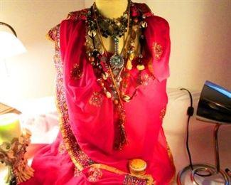 Indian Silk Sari
