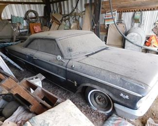 1963 Ford Galaxie 500 Fastback(Automatic 390)