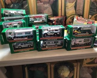 Small Hess trucks