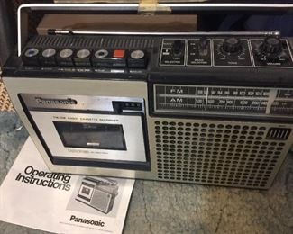 Cool Panasonic radio