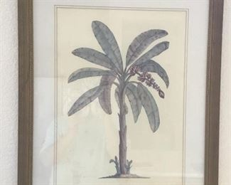 Framed palm print