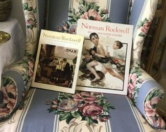 Norman Rockwell Books ( some pages large enough for framing)