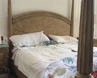 Electric 4 Poster Tuscan King Bed--each side controlled individually.