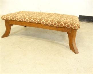 Carpeted Footstool