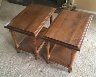Sprague and Carleton End Tables