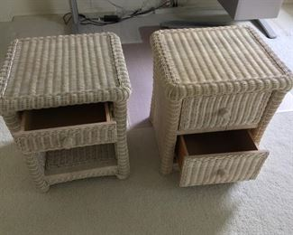 Wicker End Tables