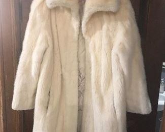 Mink Coat front