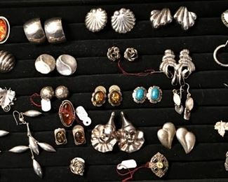 Tons of vintage jewelry