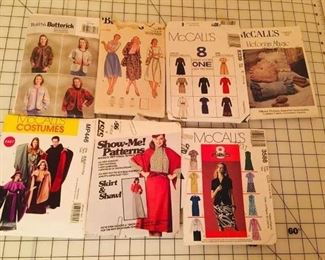 Patterns are mostly 50 cents each..includes costumes...Halloween is coming soon!