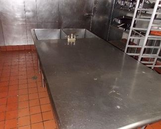 stainless steel tables racking