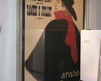 Framed Theatre Royal Poster