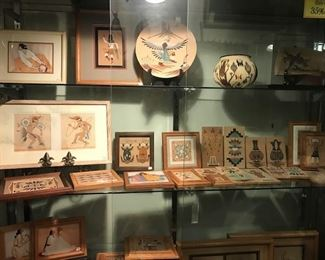 Sand paintings- large new consignment