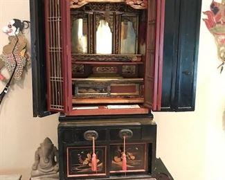 Butsudan  ( Buddhist home altar )