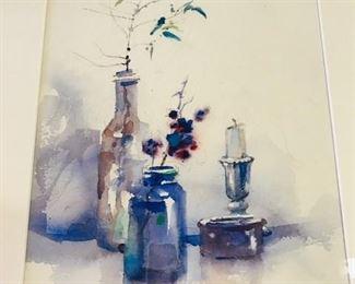 """Clay McGaughy  original watercolor  """" Shine"""""""