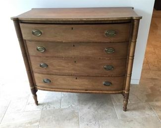 Antique Wood Dresser