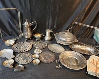 Sterling, Silverplate and more