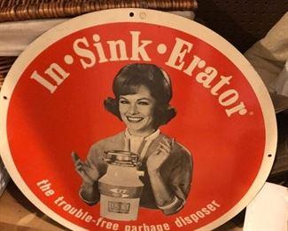 In-Sink-Erator vintage advertising