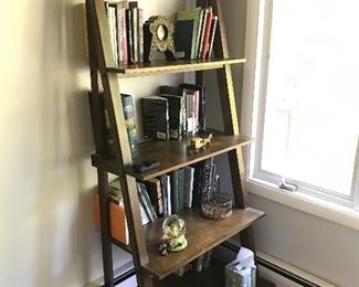 5 Tier Ladder Bookshelf