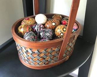 Painted Egg Collection