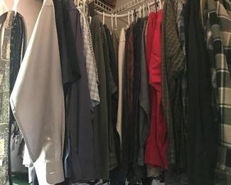 Men's Clothing size XL