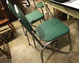 Admiral Chrome - Vintage Kitchen Chairs