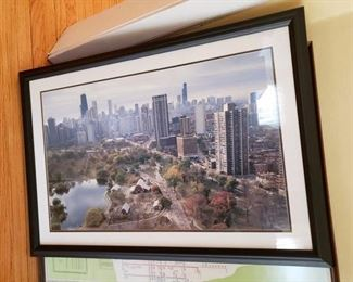 LINCOLN PARK ZOO FRAMED print