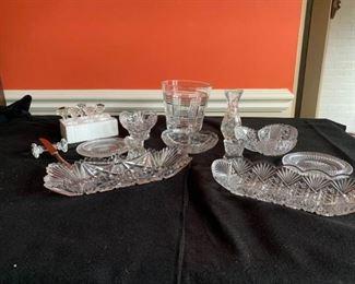 antique cut glass