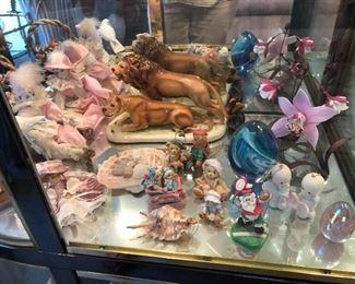 Misc. porcelain figurines
