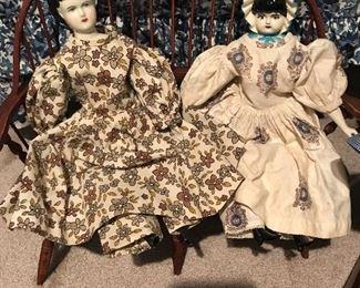 Vintage China Dolls