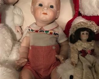 Adorable Porcelain Doll