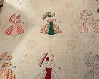 Hand-Stitched Parasol Quilt