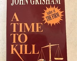 Signed A Time to Kill by John Grisham