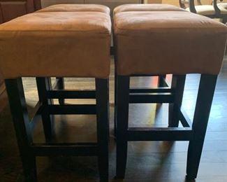 4 counter height bar stools