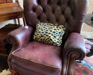 Mahogany Lazy Boy recliner