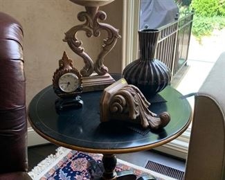 Hickory White round entry table