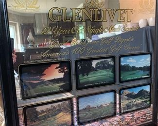 The GlENLIVET...AMERICA'S GREATEST GOLF COURSES...COLLECTIBLE