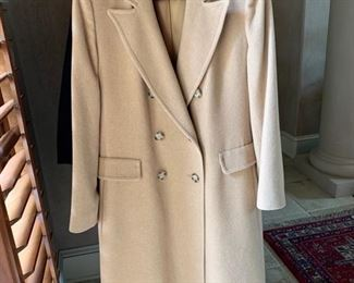 Camel Hair Coat from Halls Size 8