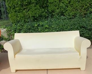 Bubble Club Sofa by Kartell in white